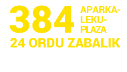 Banner parking plazas