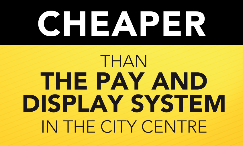 Cheaper than the pay and display system
